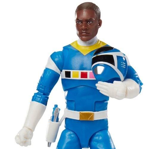 Power Rangers Lightning Deluxe Space Blue Ranger Figure