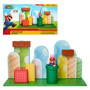 World of Nintendo 2 1/2-Inch Acorn Plains Playset
