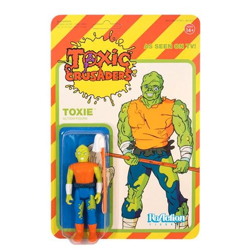 Toxic Avenger Cartoon Edition ReAction Figure