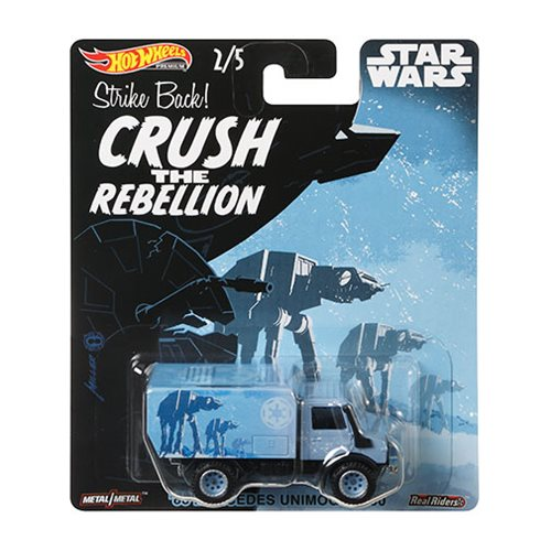 HOT WHEELS 2019 POP CULTURE STAR WARS CASE D SUPER VAN #1//5