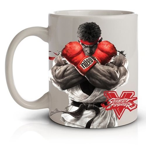 Street Fighter V Ryu 11 oz. Ceramic Mug