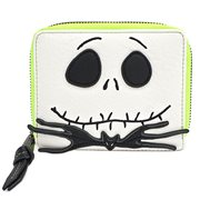 Nightmare Before Christmas Jack Skellington Zip Wallet
