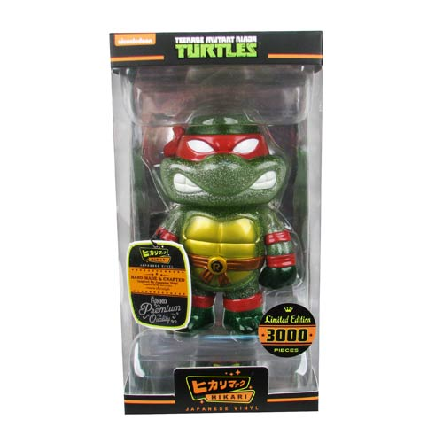 Teenage Mutant Ninja Turtles Raphael Hikari Sofubi Vinyl Figure