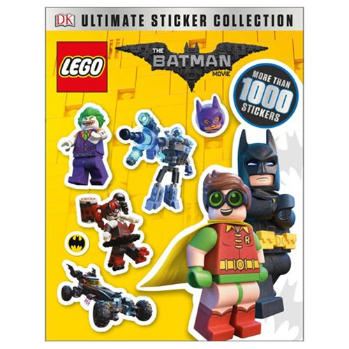 The LEGO Batman Movie: Ultimate Sticker Collection Paperback Book