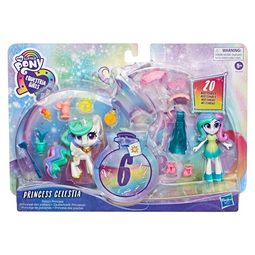 MLP EG Magic Mirror Princess Celestia Doll, Not Mint