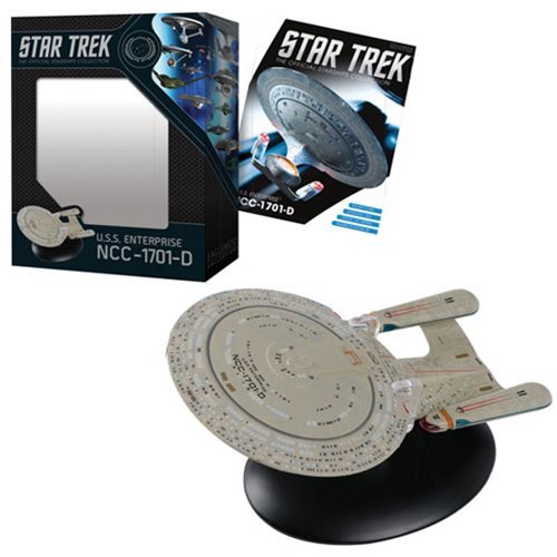 Star Trek Starships Best Of Figure #1 U.S.S. Enterprise NCC-1701D Vehicle