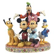 Disney Traditions Fab Five The Gang's All Here Statue by Jim Shore