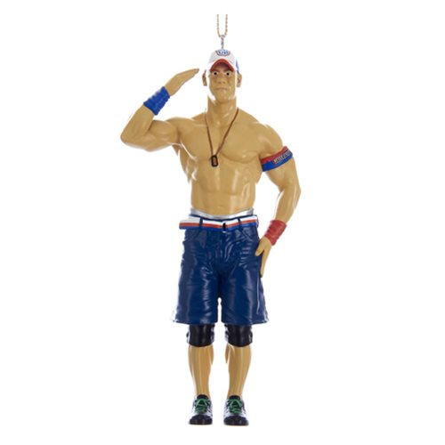 WWE John Cena 5-Inch Resin Figural Ornament