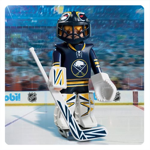 Playmobil 9179 NHL Buffalo Sabres Goalie Action Figure