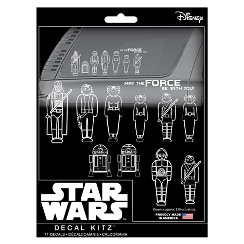 Star Wars Family Decal Kit