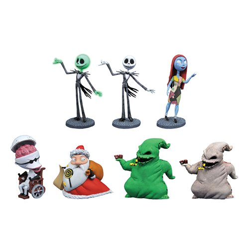 Nightmare Before Christmas D-Formz Series 2 Mini-Figure Dsiplay Case