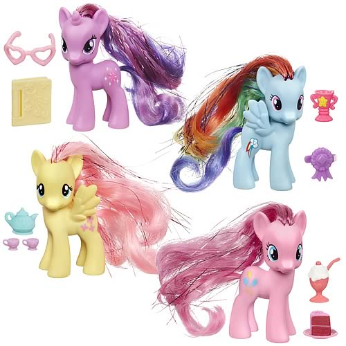 My Little Pony 2013 Crystal Ponies Wave 1 Set
