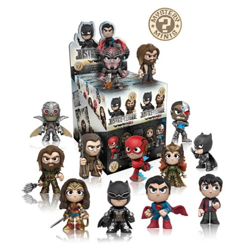 Justice League Movie Mystery Minis Display Case