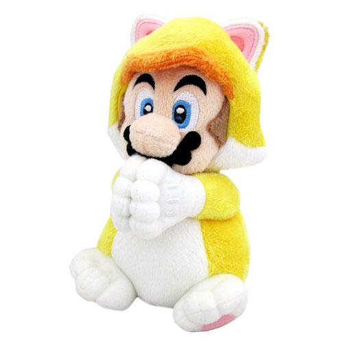 Super Mario 3D World Cat Mario 6-Inch Plush