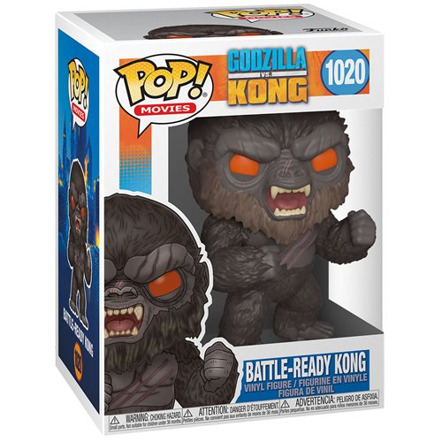 Godzilla vs. Kong Battle-Ready Kong Pop! Vinyl Figure