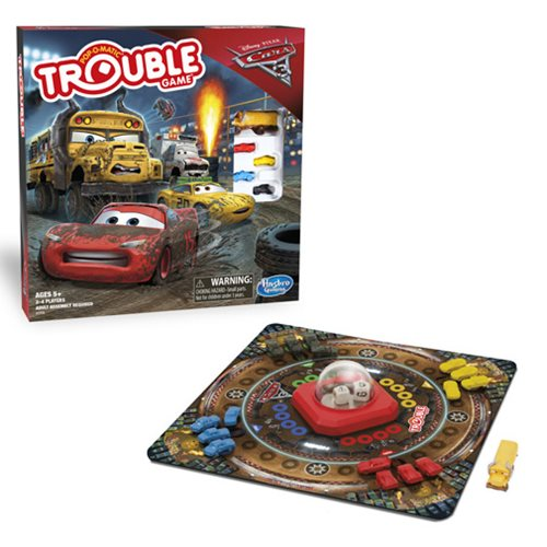 Cars 3 Trouble Game