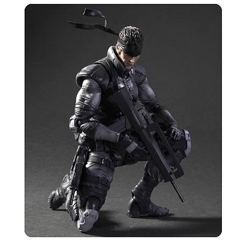 Metal Gear Solid Solid Snake Play Arts Kai Action Figure