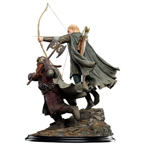 The Lord of the Rings Legolas and Gimli at Amon Hen 1:6 Scale Statue