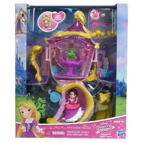 Disney Princess Rapunzel's Styling Tower Playset