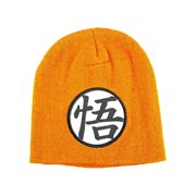 Dragon Ball Z Goku Symbol Orange Beanie Hat