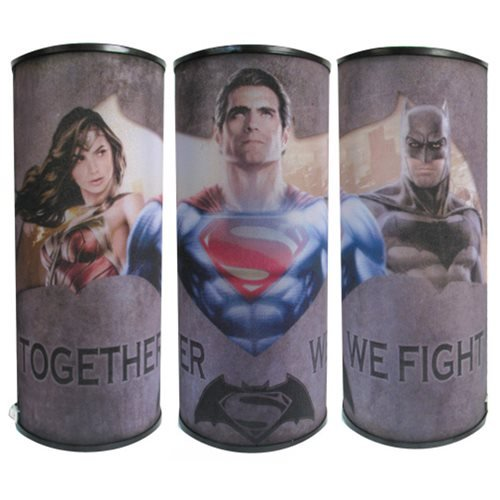 Batman v Superman: Dawn of Justice Together We Fight Cylindrical Nightlight