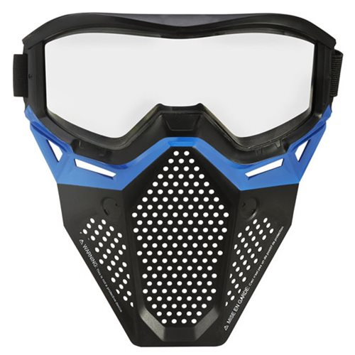 Nerf Rival Blue Face Mask, Not Mint