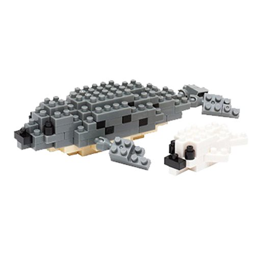 Spotted Seal Nanoblock Constructible Figure