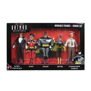 Batman: The New Batman Adventures Heroes 5 1/2-Inch Bendable Figure Box Set