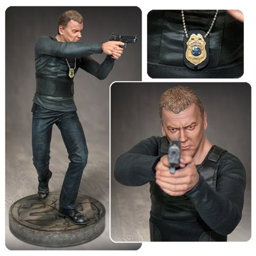24 Jack Bauer 1:4 Scale Statue
