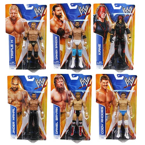WWE Basic Figure Series 35 Action Figure Case