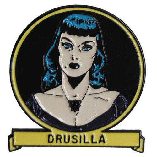 EC Comics The Vault of Horror Drusilla Lapel Pin