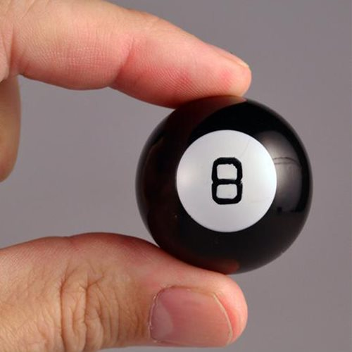 World's Smallest Magic 8 Ball Game
