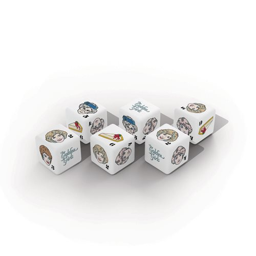 The Golden Girls Dice Set Game