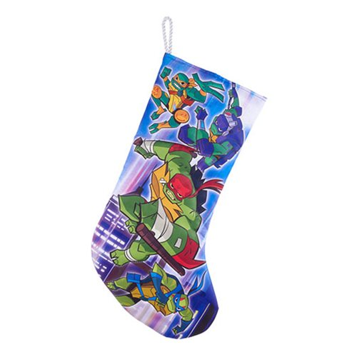Teenage Mutant Ninja Turtles 19-Inch Printed Satin Stocking
