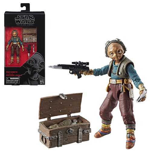 Star Wars The Black Series Maz Kanata 6-Inch Action Figure, Not Mint