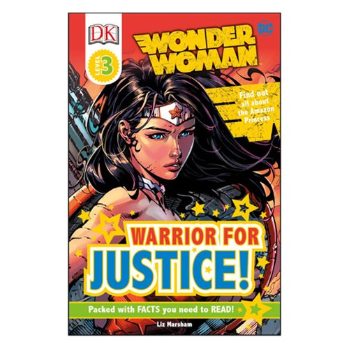 DC Comics Wonder Woman: Warrior for Justice DK Readers 3 Paperback Book