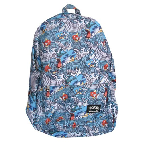 Pokemon Gyarados Magikarp Waves Backpack Entertainment Earth