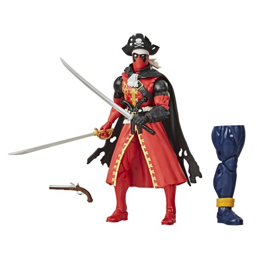 Deadpool Marvel Legends Pirate Deadpool 6-inch Action Figure