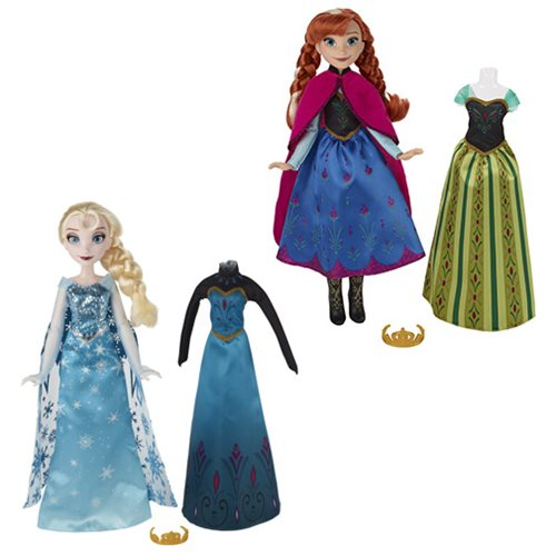 Frozen Fashion Change Dolls Wave 1 Case