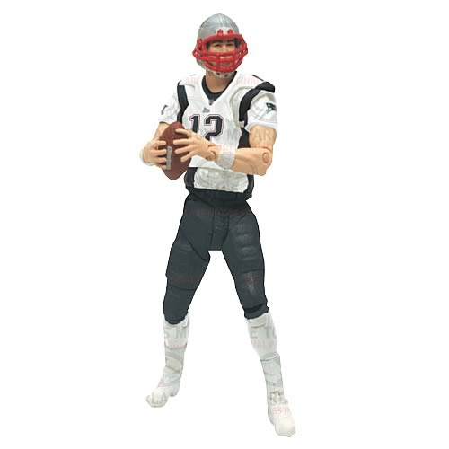 NFL Playmakers Series 3 Tom Brady Patriots 4in Action Figure McFarlane Toys