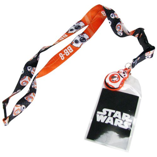 Star Wars The Force Awakens BB-8 Lanyard