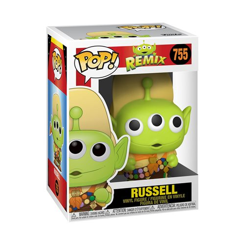 Pixar 25th Anniversary Alien as Russel Pop! Vinyl Figure