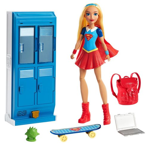 DC Super Hero Girls X-Ray Vision Supergirl Doll and Locker