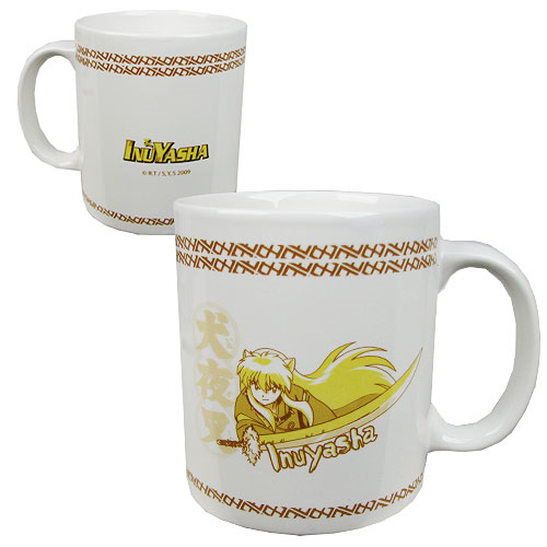 InuYasha 11 oz. White Ceramic Mug