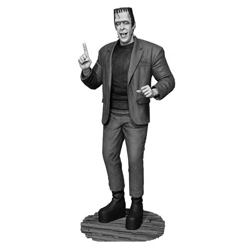 Munsters Black-and-White Herman Munster Maquette Statue