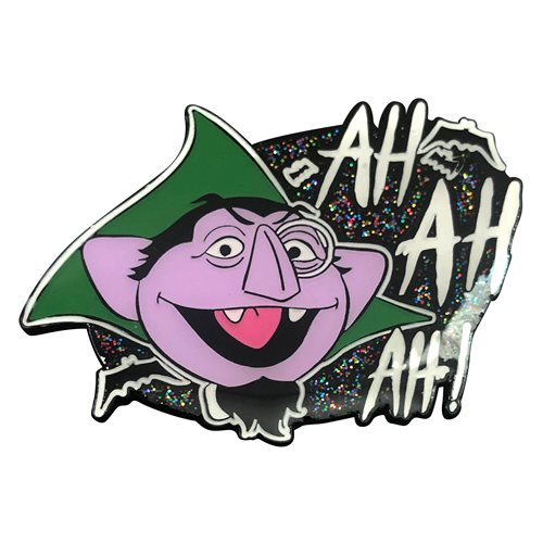Sesame Street Ah! Ah! Ah! With The Count Enamel Pin