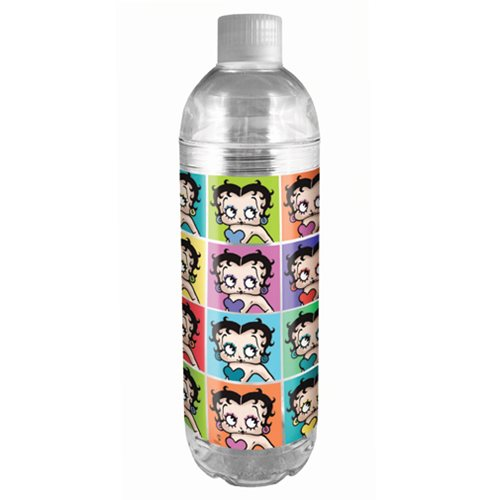 Betty Boop Squares 22 oz. Twist-Off Water Bottle