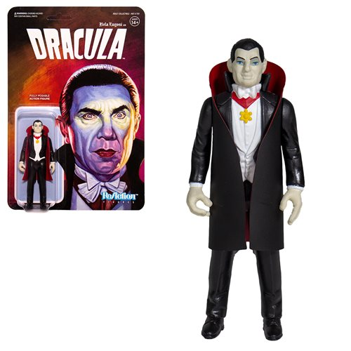 Universal Monsters Dracula 3 3/4-inch ReAction Figure