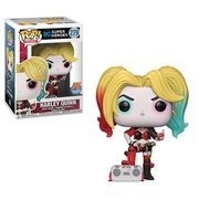 DC Heroes Harley Quinn with Boombox Pop! Vinyl Figure - Previews Exclusive