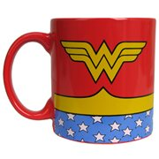 Wonder Woman Uniform 20 oz. Jumbo Ceramic Mug